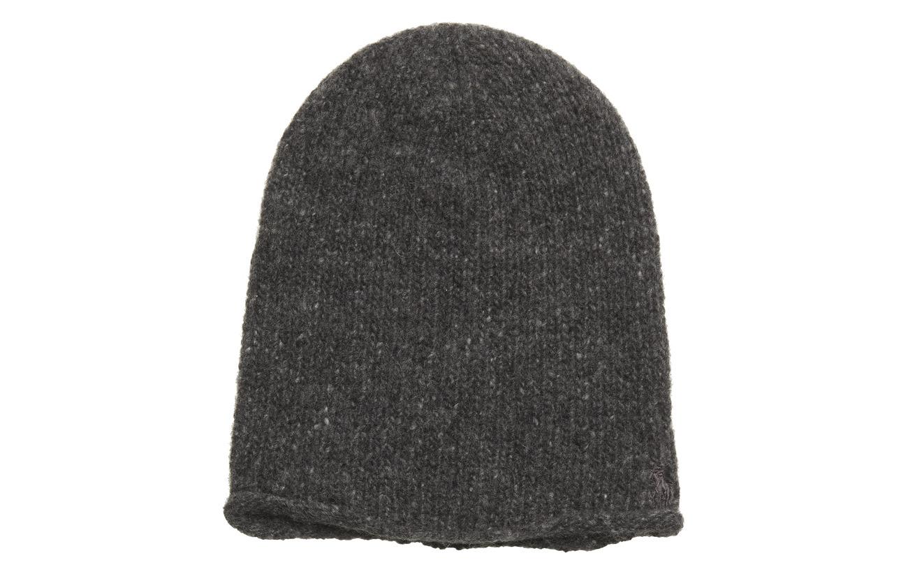 Cashmere-cashmere Donegal Hat (Bristol Hthr) (£46.75) - Polo Ralph ... 4bd21d7f276