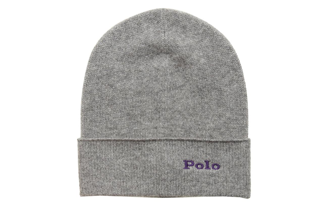 Polo Ralph Lauren CASHMERE-CASH HAT-HAT - CHARCOAL