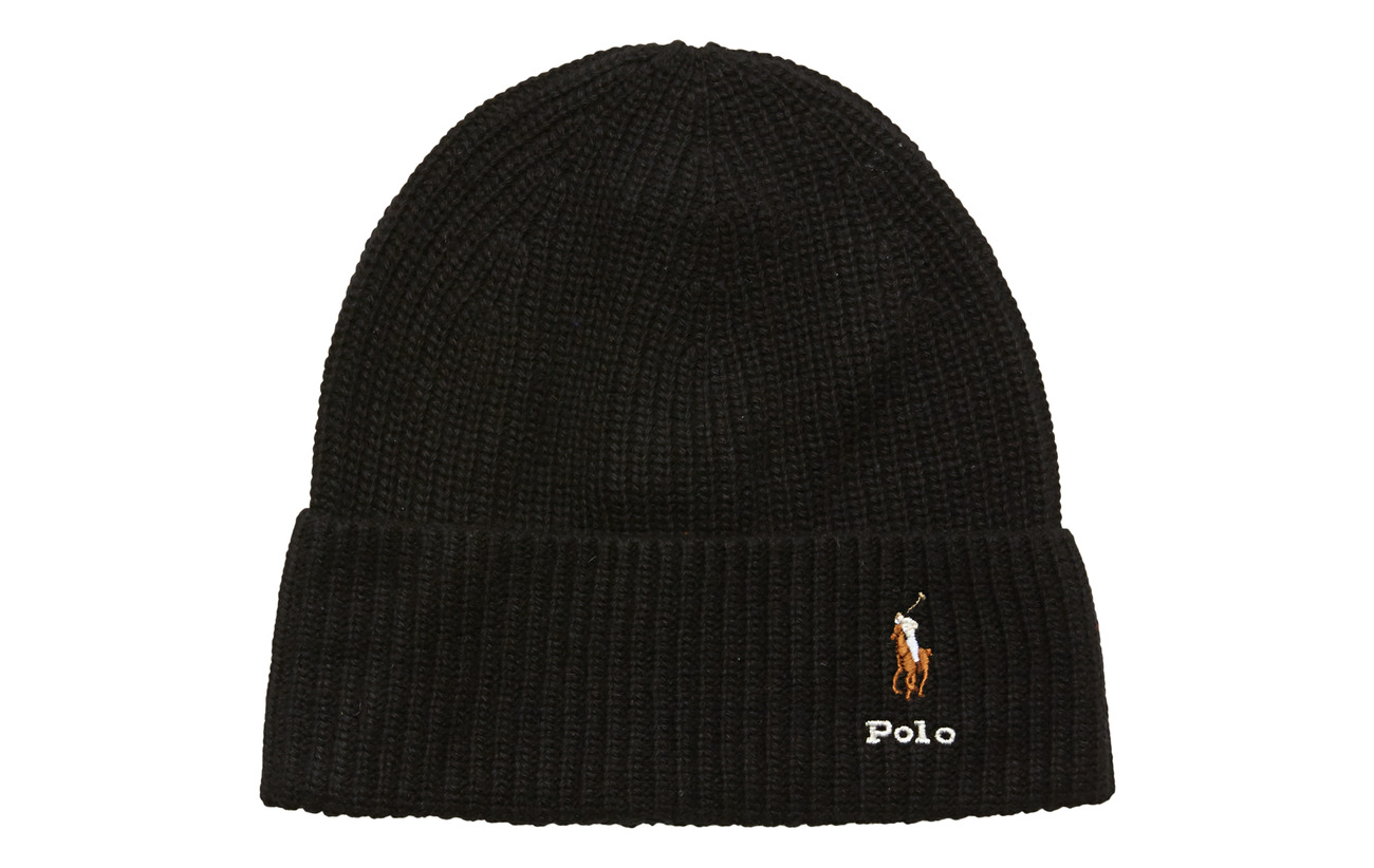 Polo Ralph Lauren VISCOSE BLEND-CARD HAT-HAT - POLO BLACK