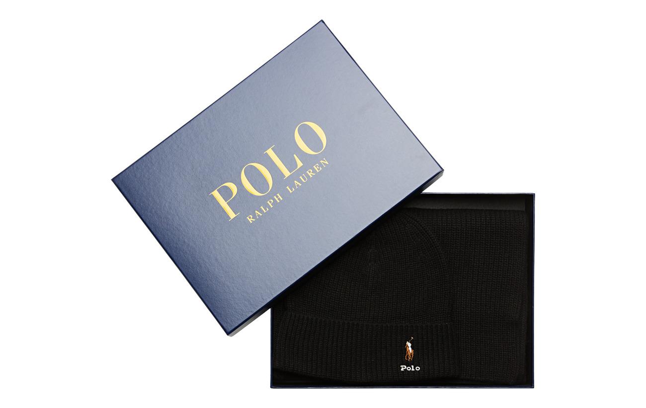 Polo Ralph Lauren VISCOSE BLEND-SIGN BOX3-OBS - POLO BLACK