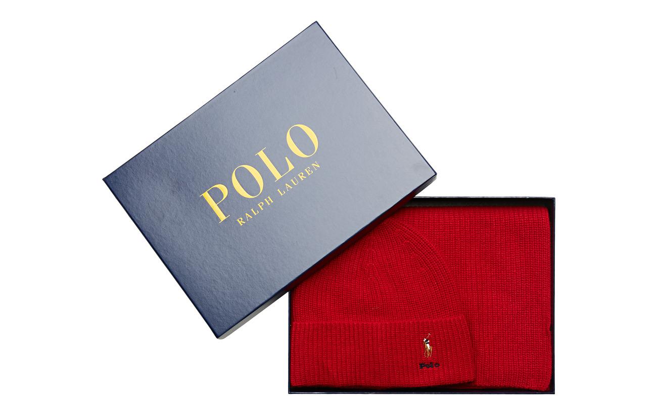 Polo Ralph Lauren VISCOSE BLEND-SIGN BOX4-OBS - RALPH RED