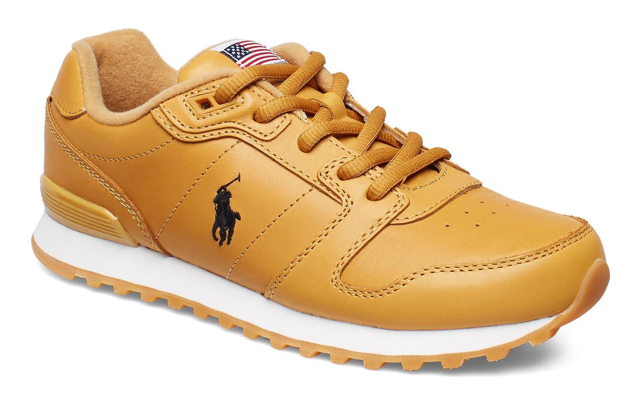 Polo Ralph Lauren Classic Runner Leather Sneaker - HONEY