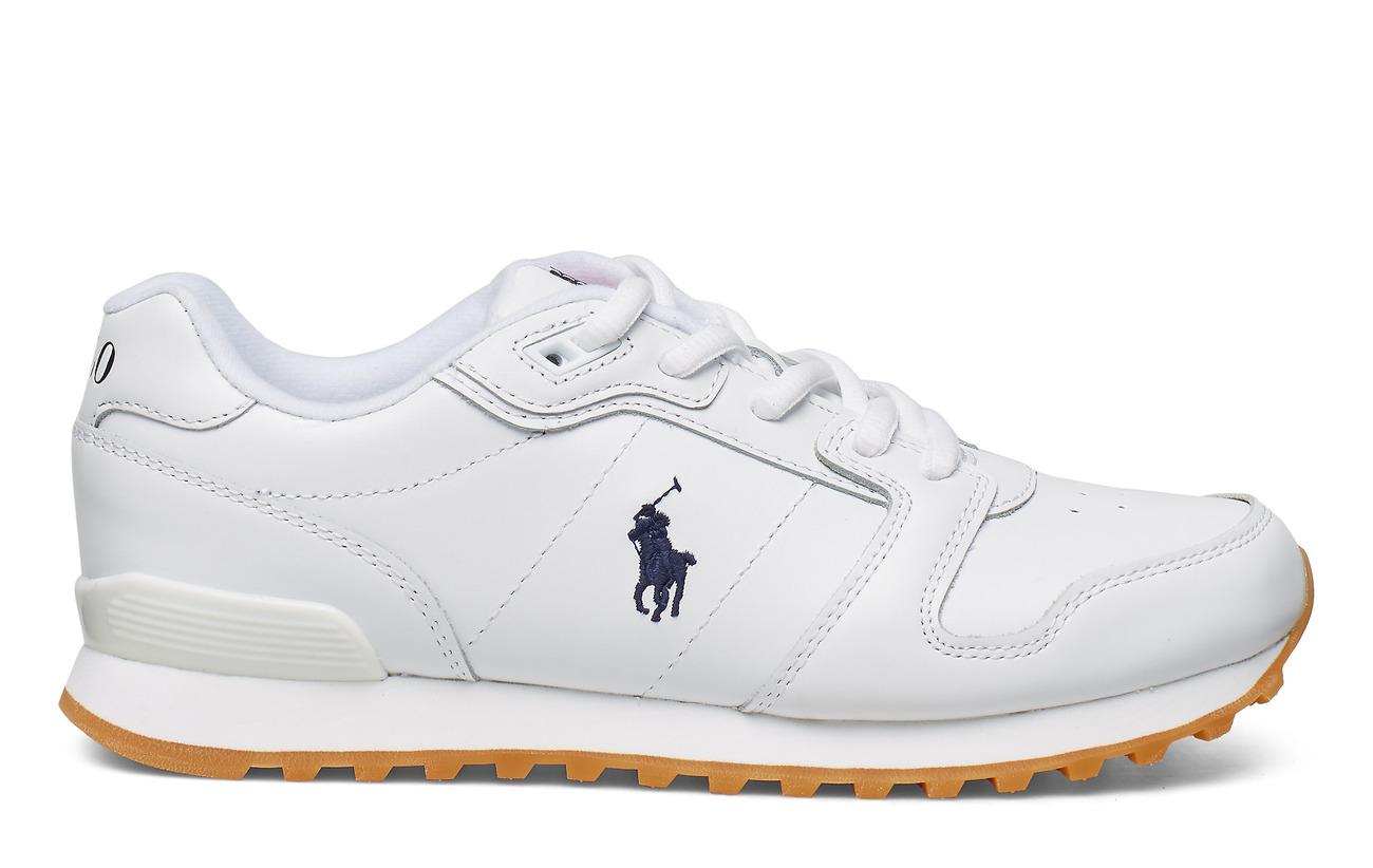 Classic Leather SneakerwhitePolo Runner Lauren Ralph 54Rq3jLA