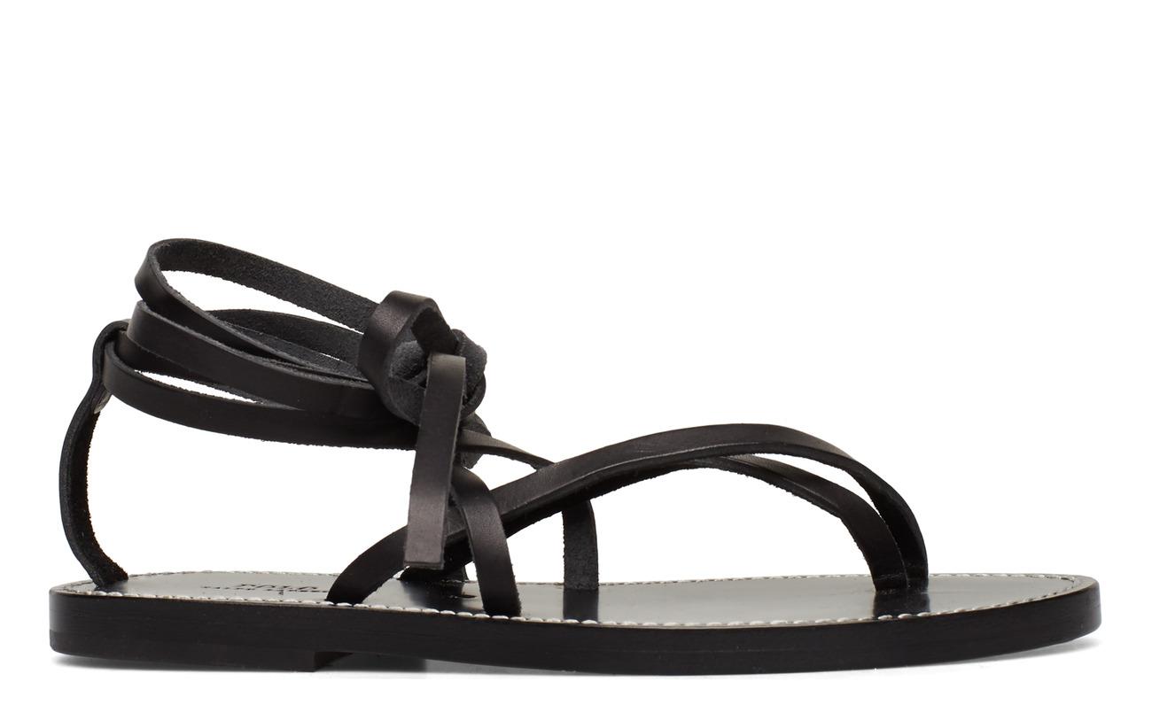 Polo Ralph Lauren SMOOTH VACHETTA-JORDIN-SN-CSL - BLACK