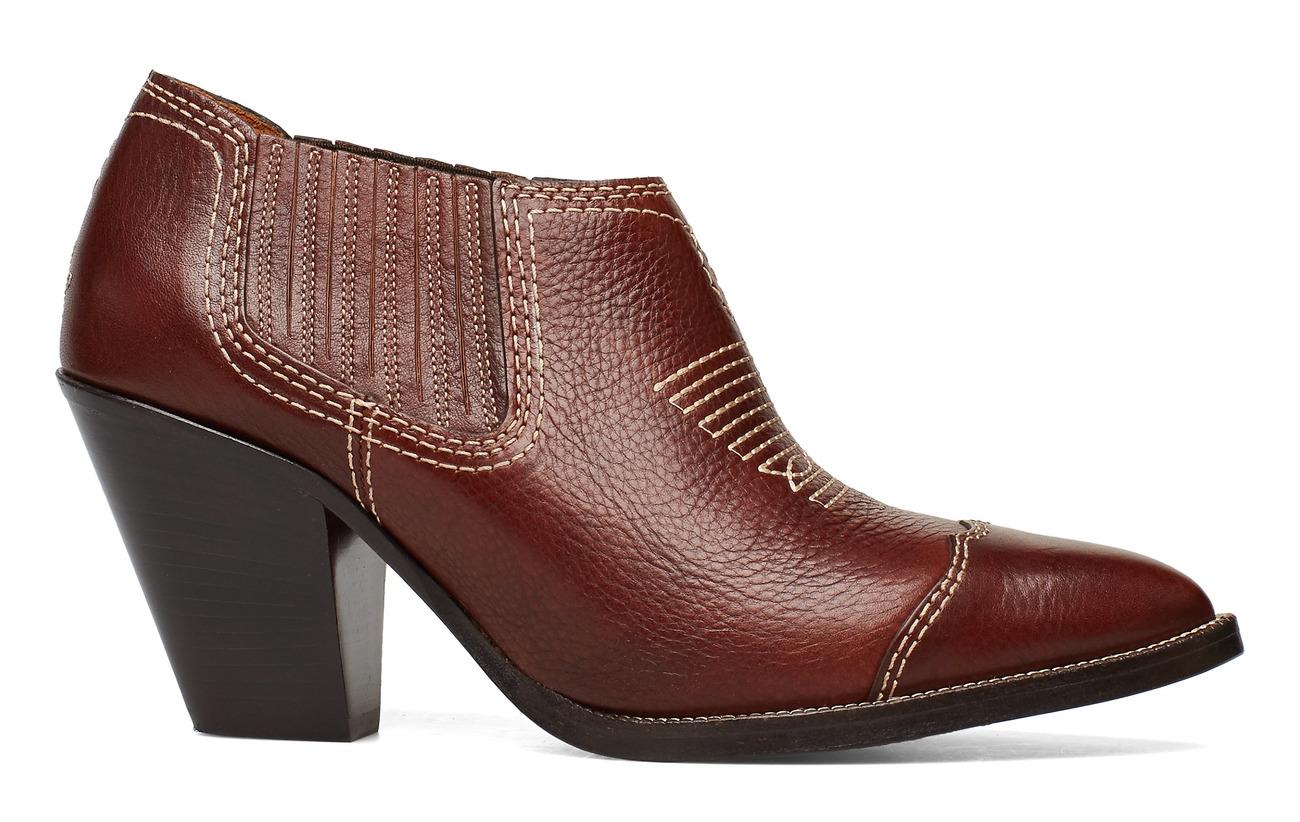 Ralph Lauren Lowrey Bootiedark Leather CognacPolo PZikuOXTw
