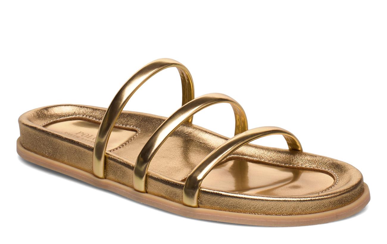 Polo Ralph Lauren Slide Sandal - GOLD