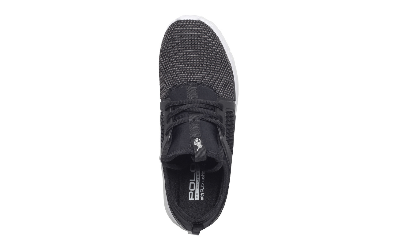 Sneaker Partie Outsol Dark Lauren Supérieure Neoprene Polo Ralph Train Caoutchouc newport Navy 150 Mesh TxgAXq