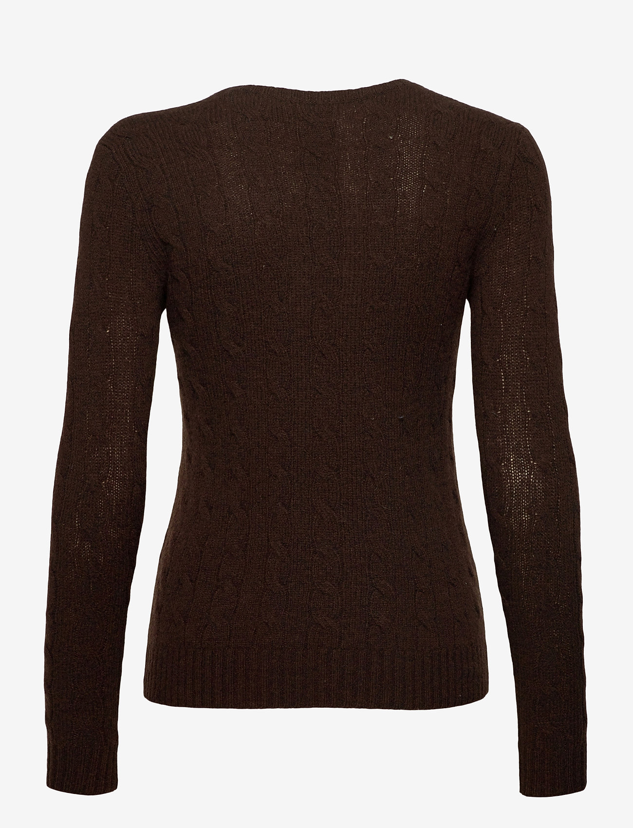 Polo Ralph Lauren - Cable Wool-Cashmere Sweater - jumpers - cedar heather - 1