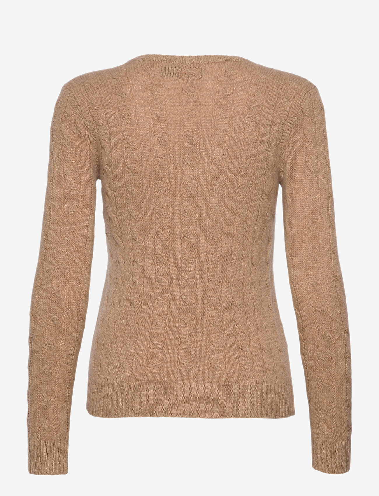 Polo Ralph Lauren - Cable Wool-Cashmere Sweater - jumpers - luxury beige heat - 1