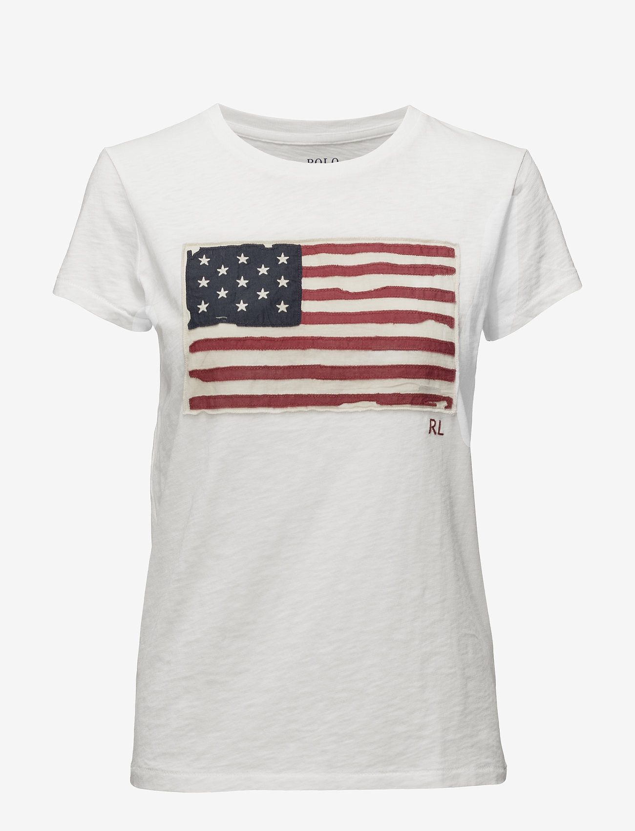 Polo Ralph Lauren - Flag Jersey Graphic T-Shirt - t-shirts - nevis - 0
