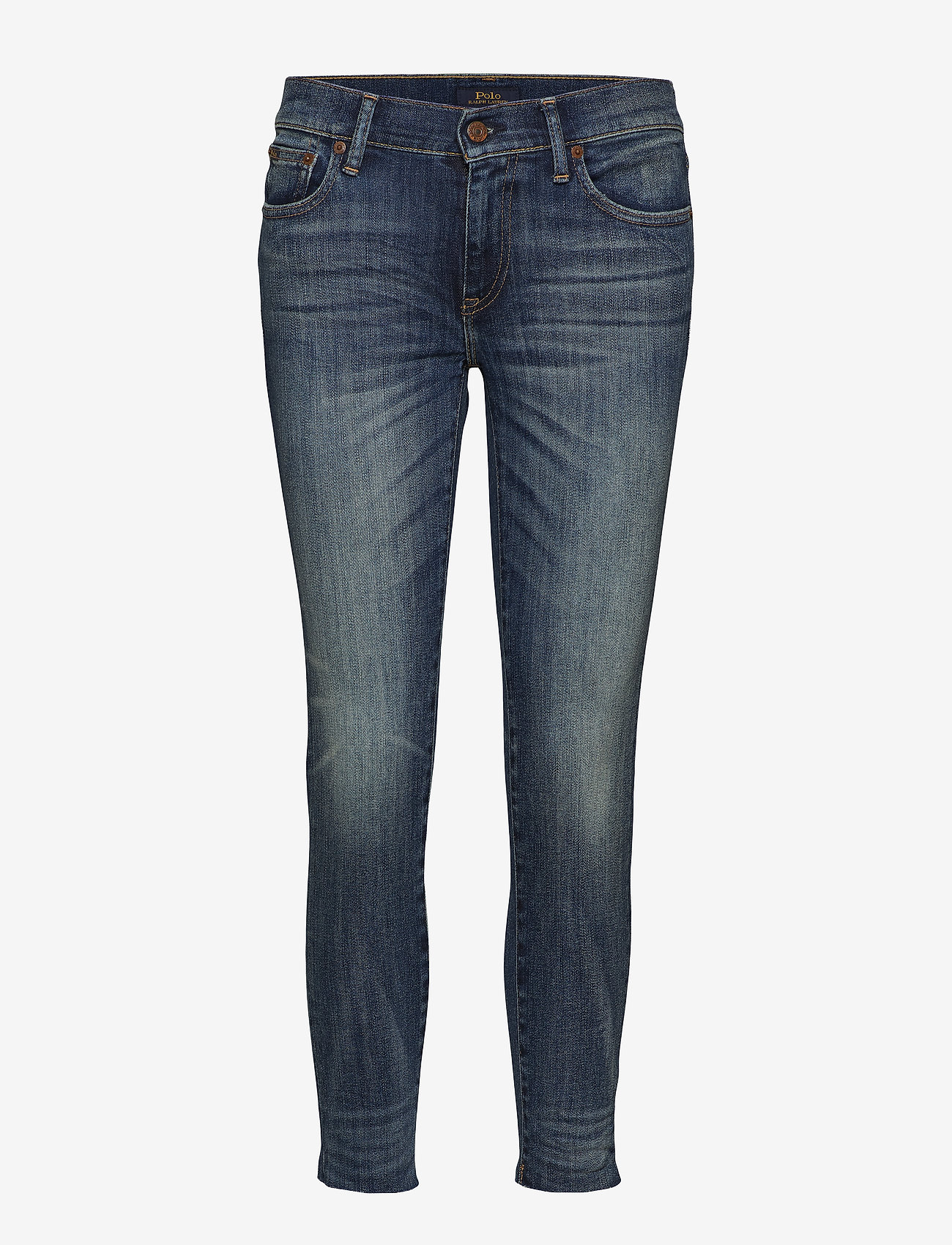 Polo Ralph Lauren - Tompkins Skinny Crop Jean - skinny jeans - dark indigo - 0