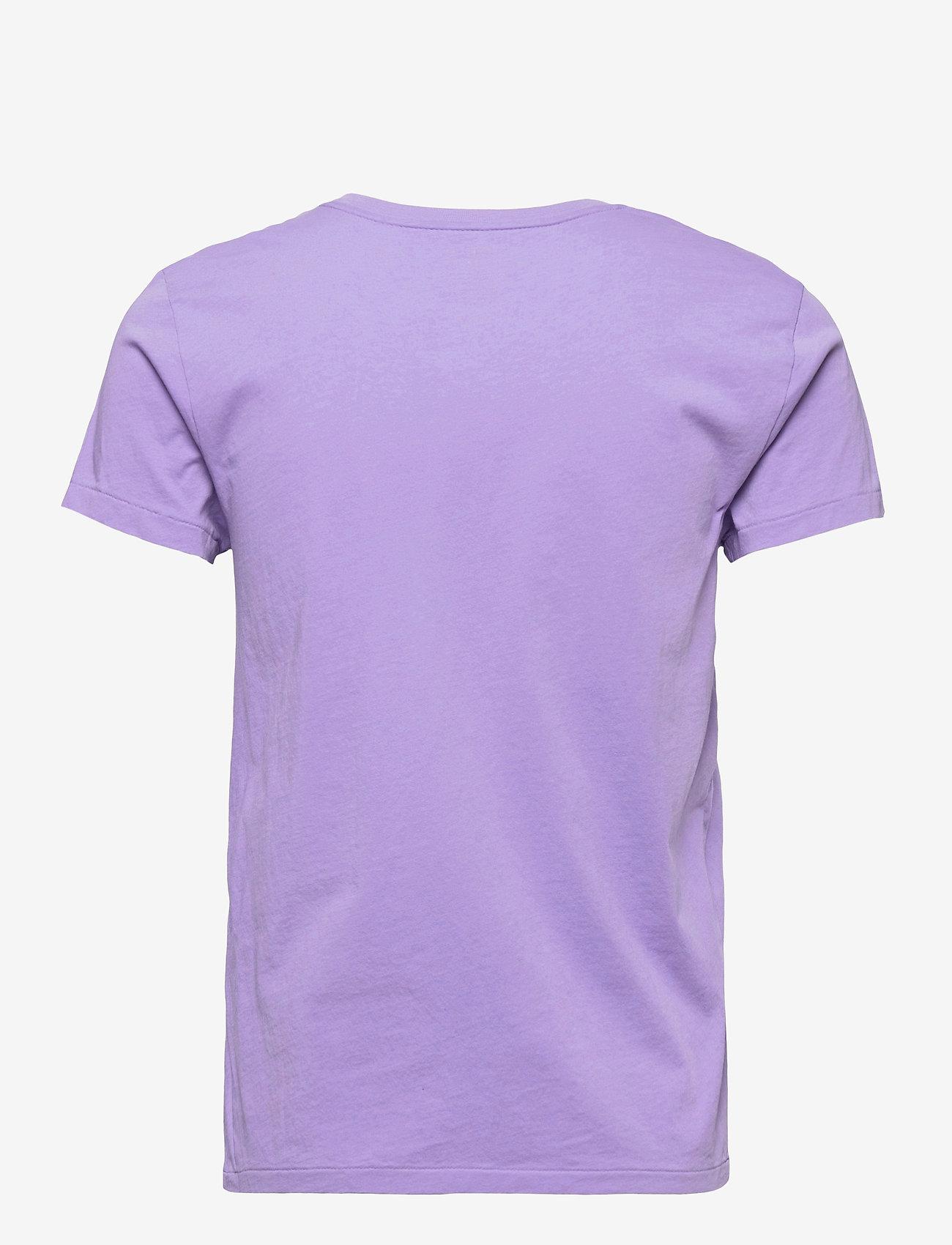 Polo Ralph Lauren - Cotton Jersey Crewneck Tee - t-shirts - hyacinth - 1