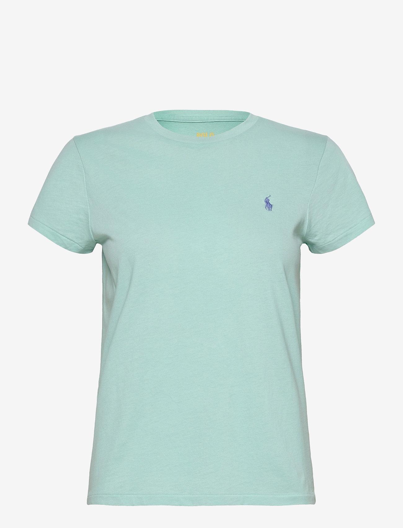 Polo Ralph Lauren - Cotton Jersey Crewneck Tee - t-shirts - parakeet - 1