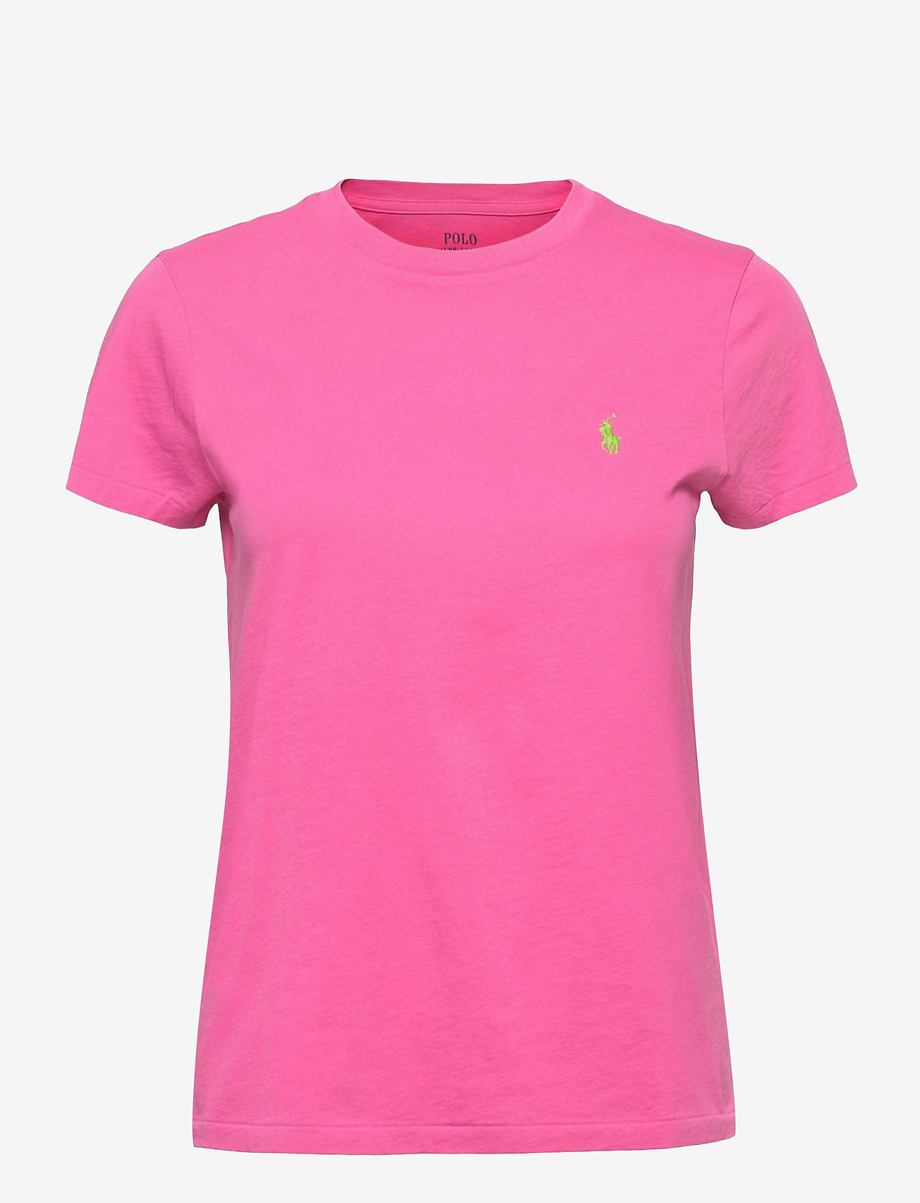 Polo Ralph Lauren - Cotton Jersey Crewneck Tee - t-shirts - peony - 0