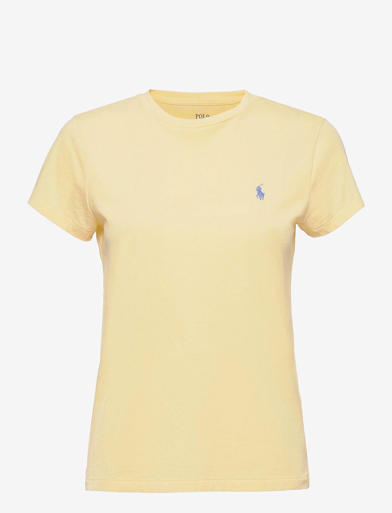 Polo Ralph Lauren - Cotton Jersey Crewneck Tee - t-shirts - wicket yellow - 0