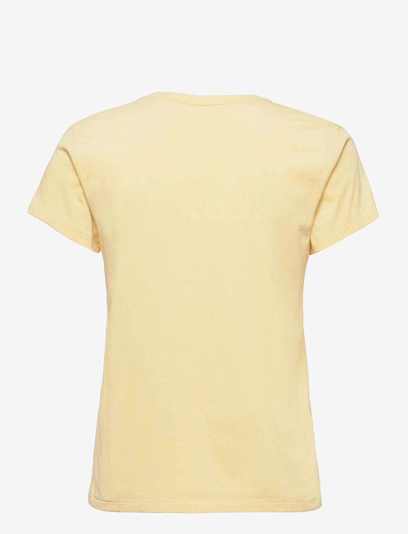 Polo Ralph Lauren - Cotton Jersey Crewneck Tee - t-shirts - wicket yellow - 1