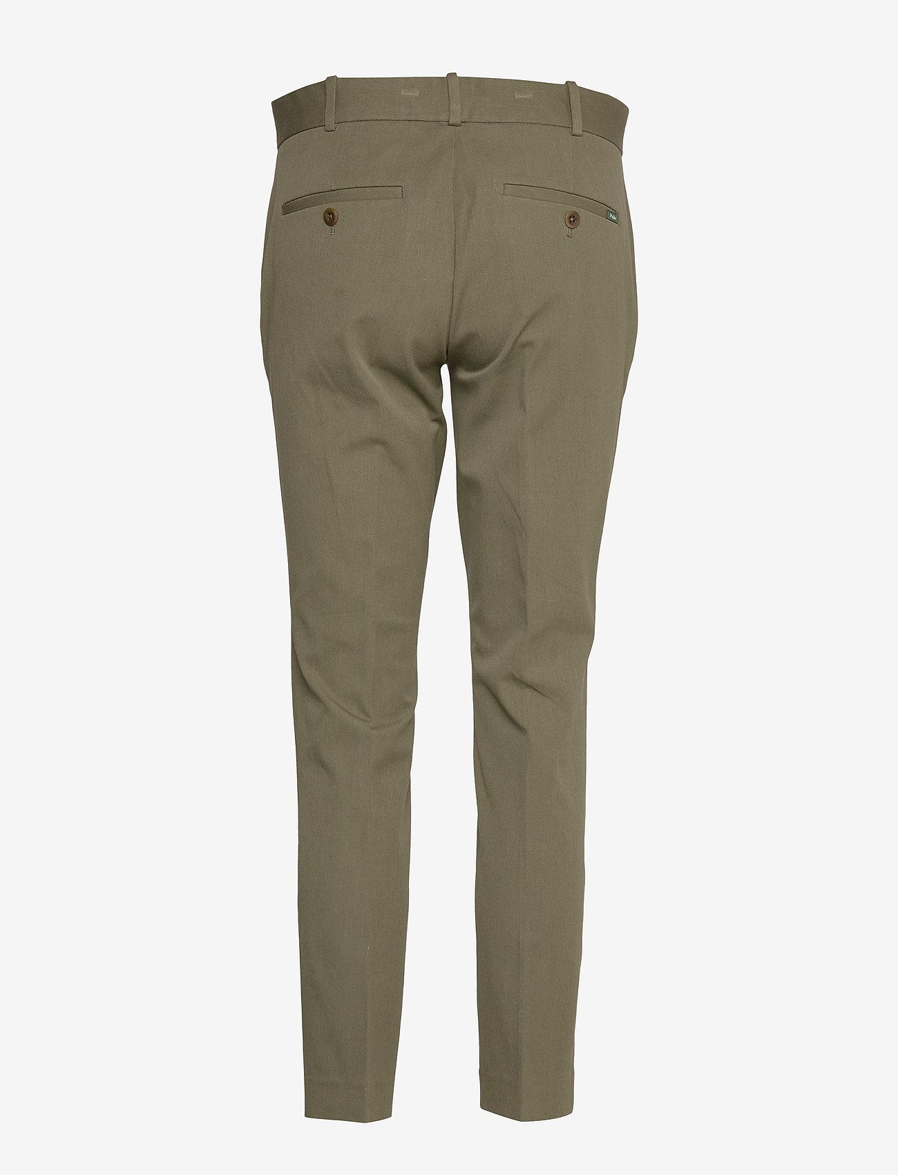 Polo Ralph Lauren - Bi-Stretch Twill Pant - straight leg trousers - dark sage