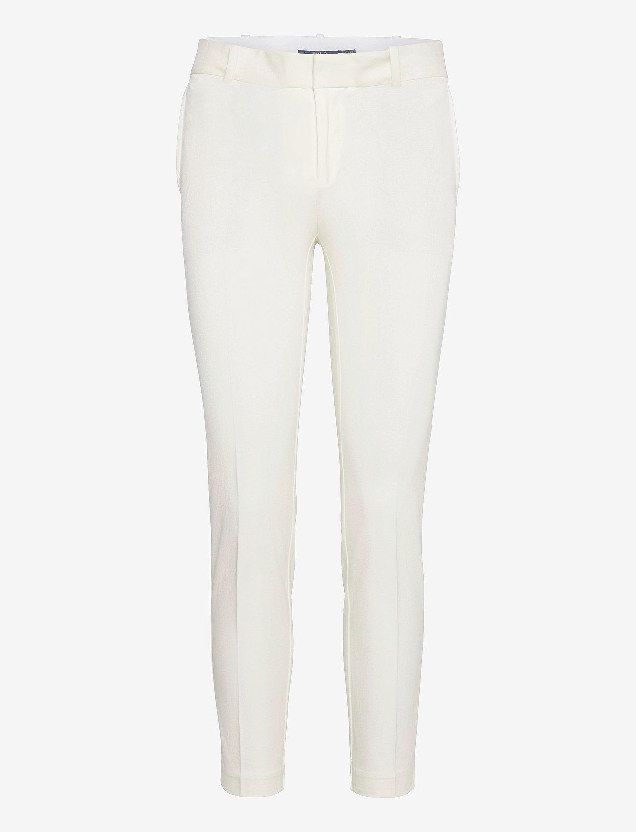 Polo Ralph Lauren - Bi-Stretch Twill Pant - slim fit bukser - warm white - 1