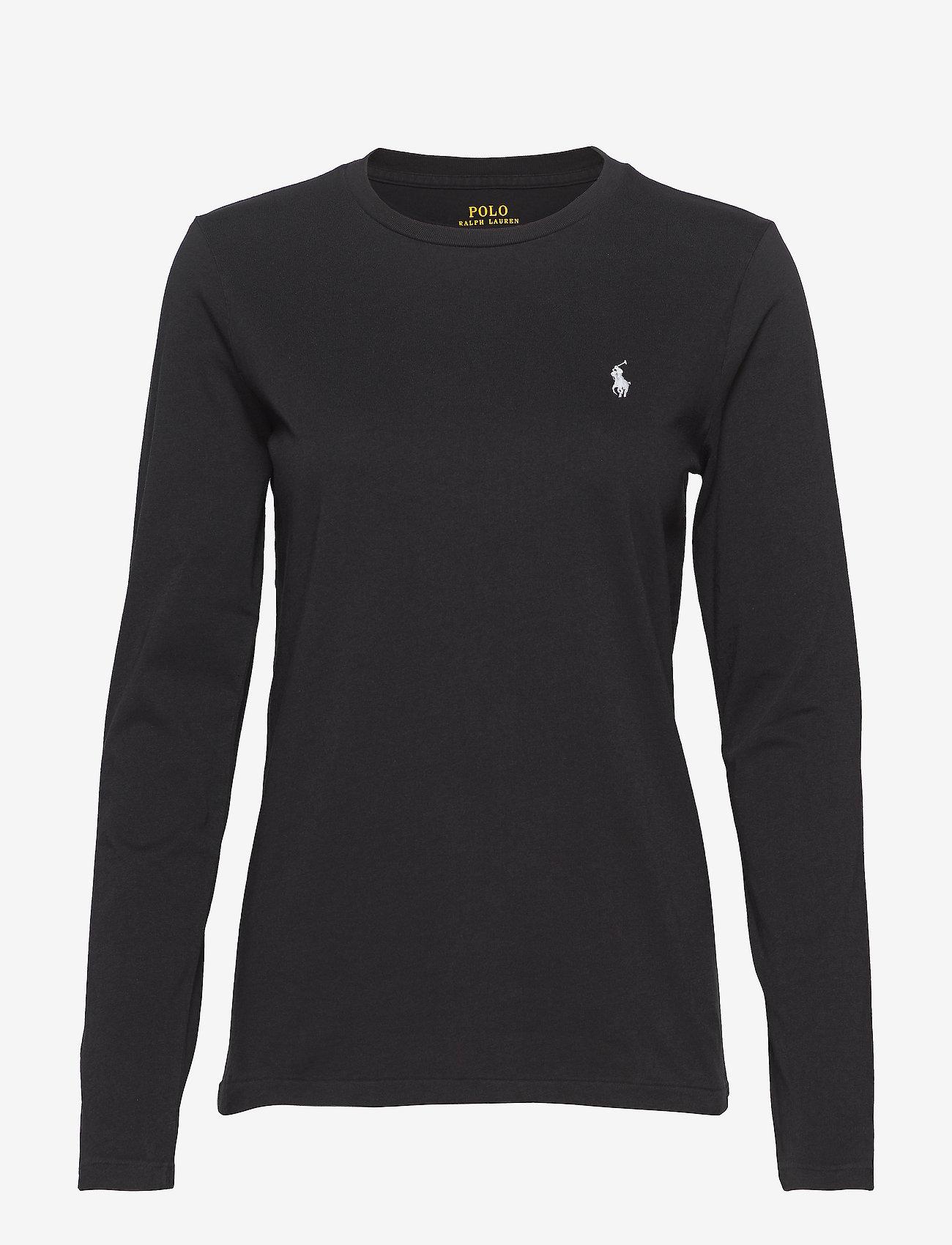 Polo Ralph Lauren - Jersey Long-Sleeve Shirt - langærmede toppe - polo black - 1