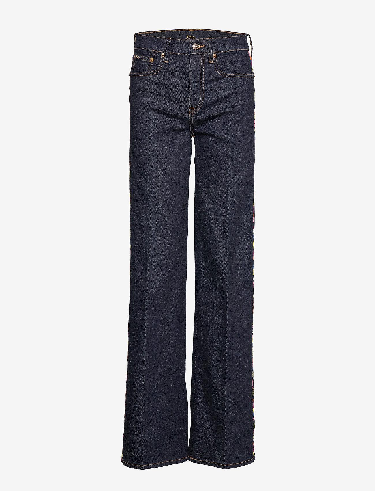 Polo Ralph Lauren - Ulta Stretch Wide-Leg Jean - broeken met wijde pijpen - dark indigo w rai - 0