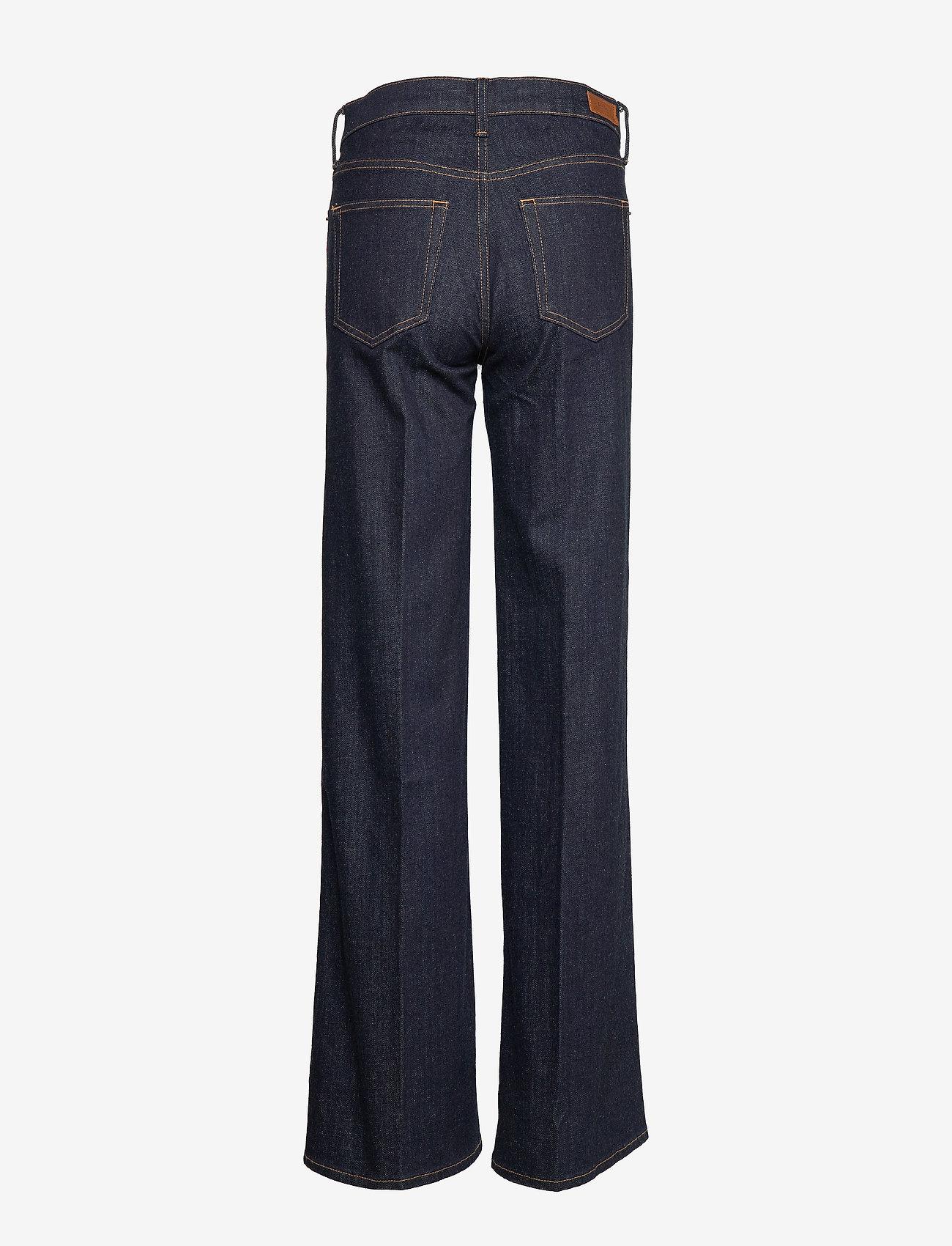 Polo Ralph Lauren - Ulta Stretch Wide-Leg Jean - broeken met wijde pijpen - dark indigo w rai - 1