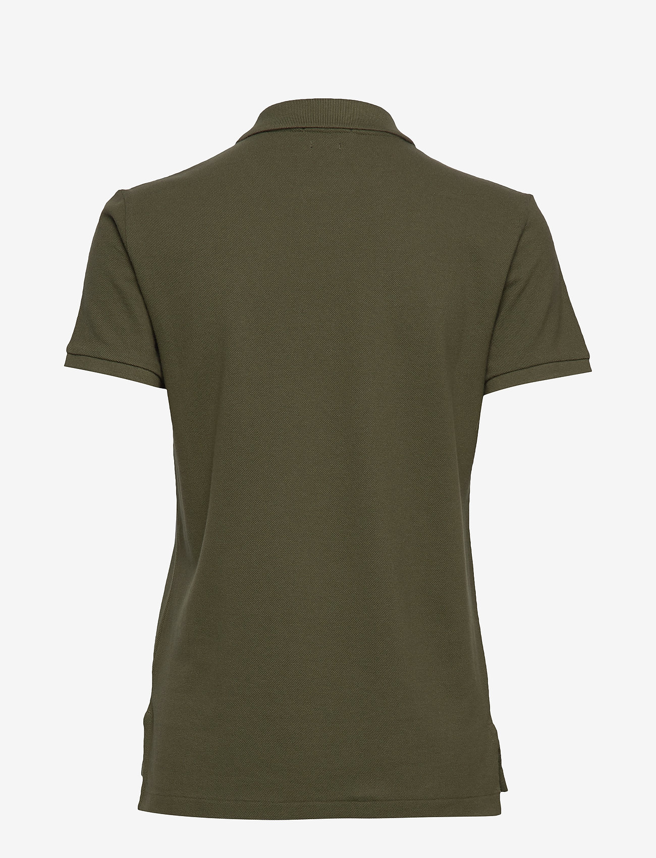 Polo Ralph Lauren - Classic Fit Beaded Polo Shirt - basic t-shirts - defender green - 1