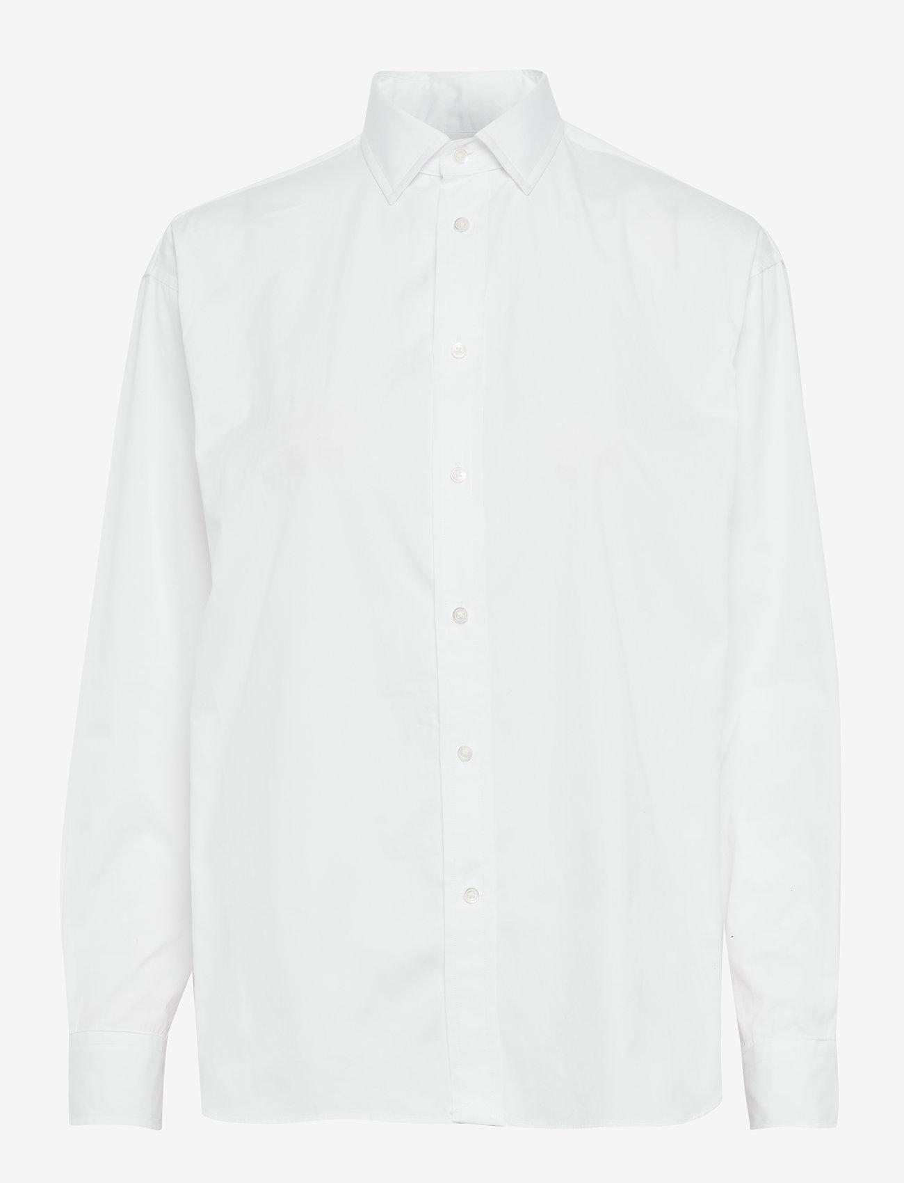 Polo Ralph Lauren - Cotton Broadcloth Shirt - long-sleeved shirts - white - 0