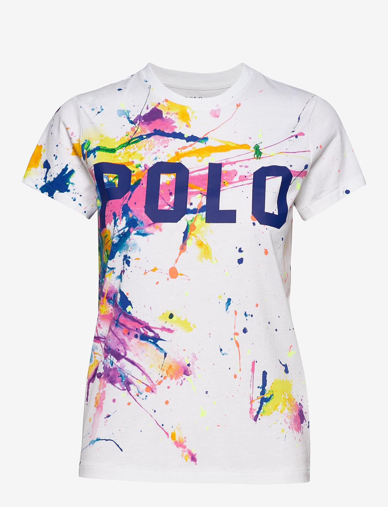 Polo Ralph Lauren - Polo Paint-Graphic Tee - t-shirty - paint splatter - 0