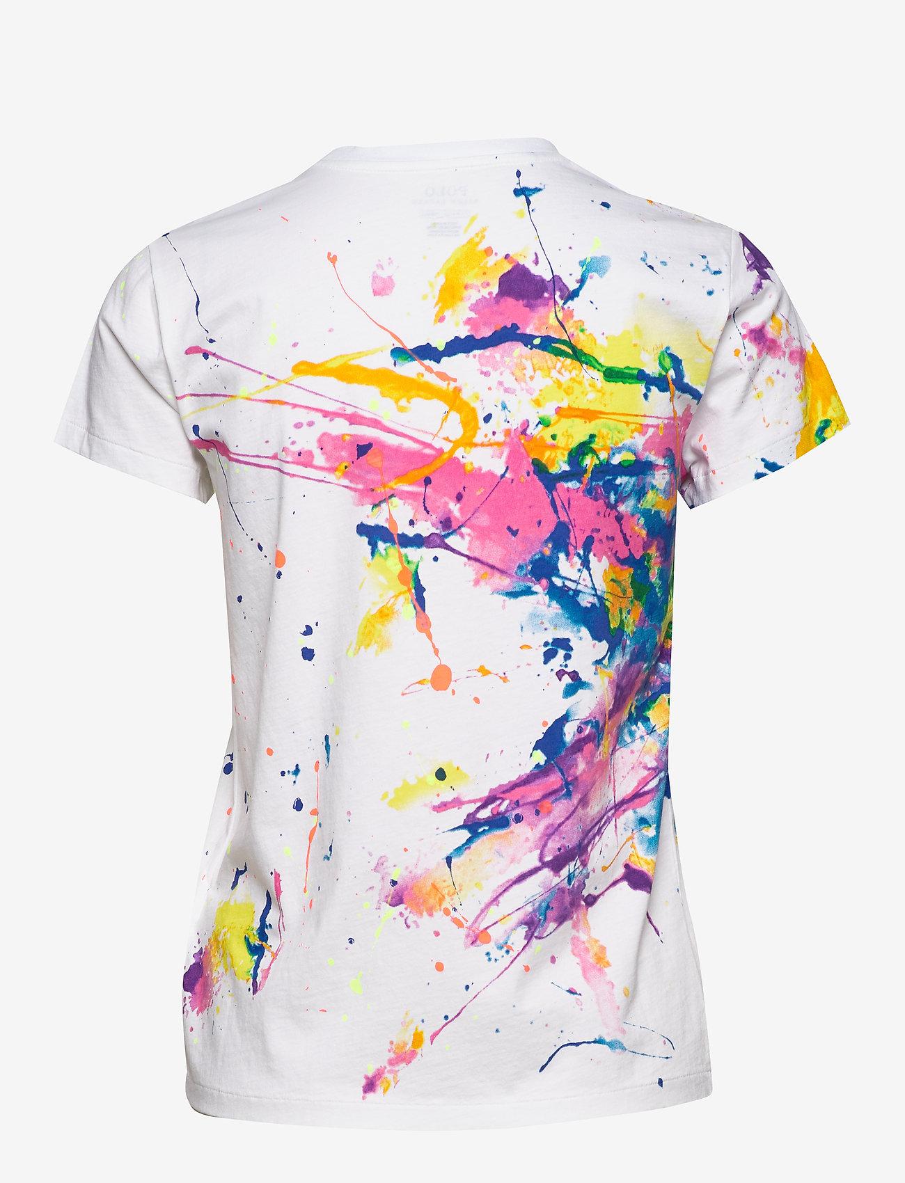 Polo Ralph Lauren - Polo Paint-Graphic Tee - t-shirty - paint splatter - 1
