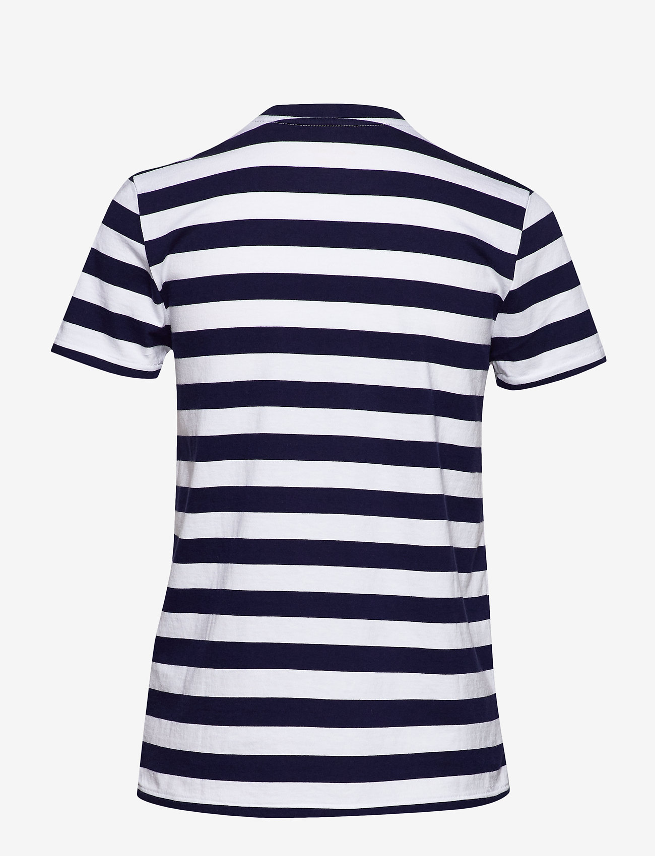 Polo Ralph Lauren - Striped Short-Sleeve Tee - striped t-shirts - cruise navy/ whit