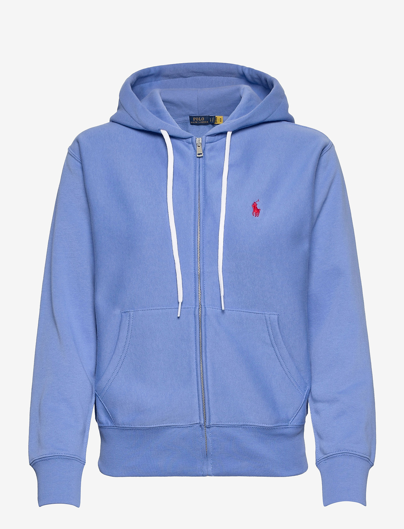 Polo Ralph Lauren - Fleece Full-Zip Hoodie - hættetrøjer - harbor island blu - 1