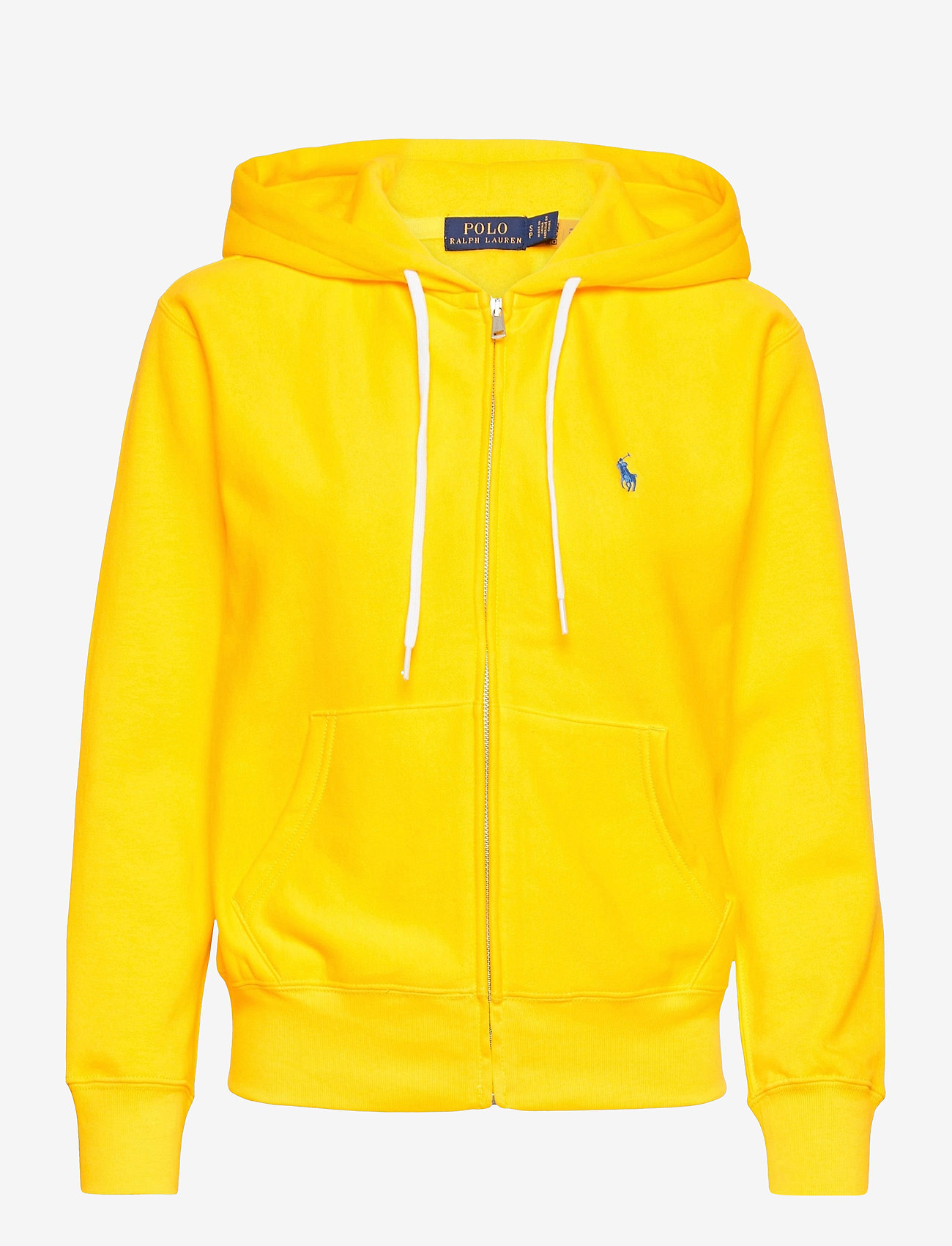 Polo Ralph Lauren - Fleece Full-Zip Hoodie - hættetrøjer - university yellow - 1
