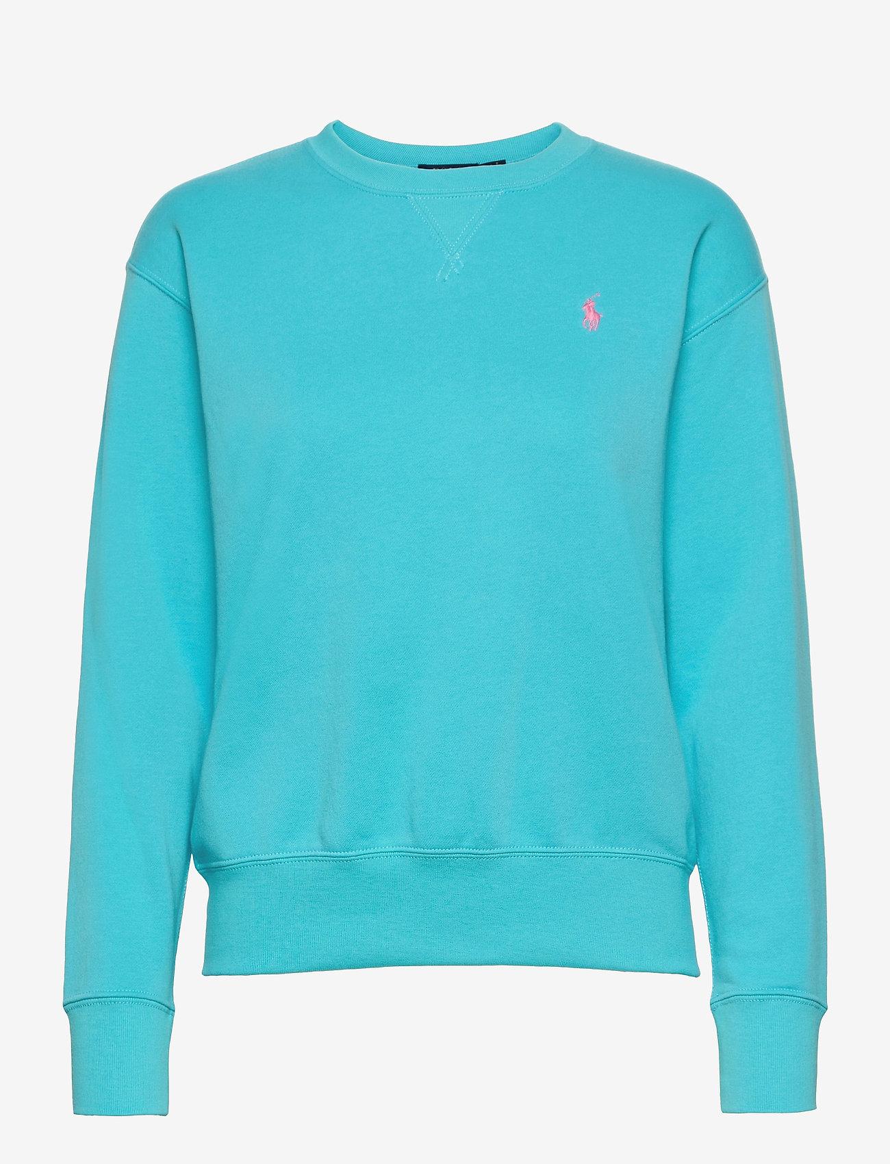 Polo Ralph Lauren - Fleece Pullover - sweatshirts - perfect turquoise - 0