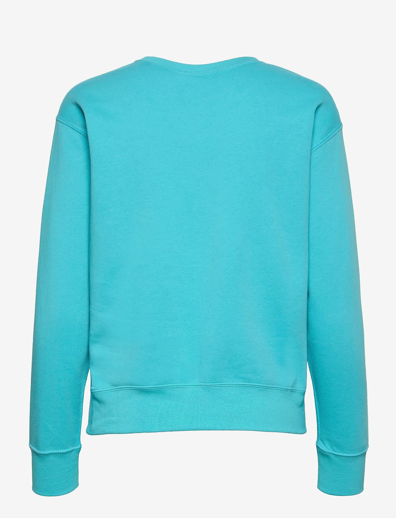 Polo Ralph Lauren - Fleece Pullover - sweatshirts - perfect turquoise - 1