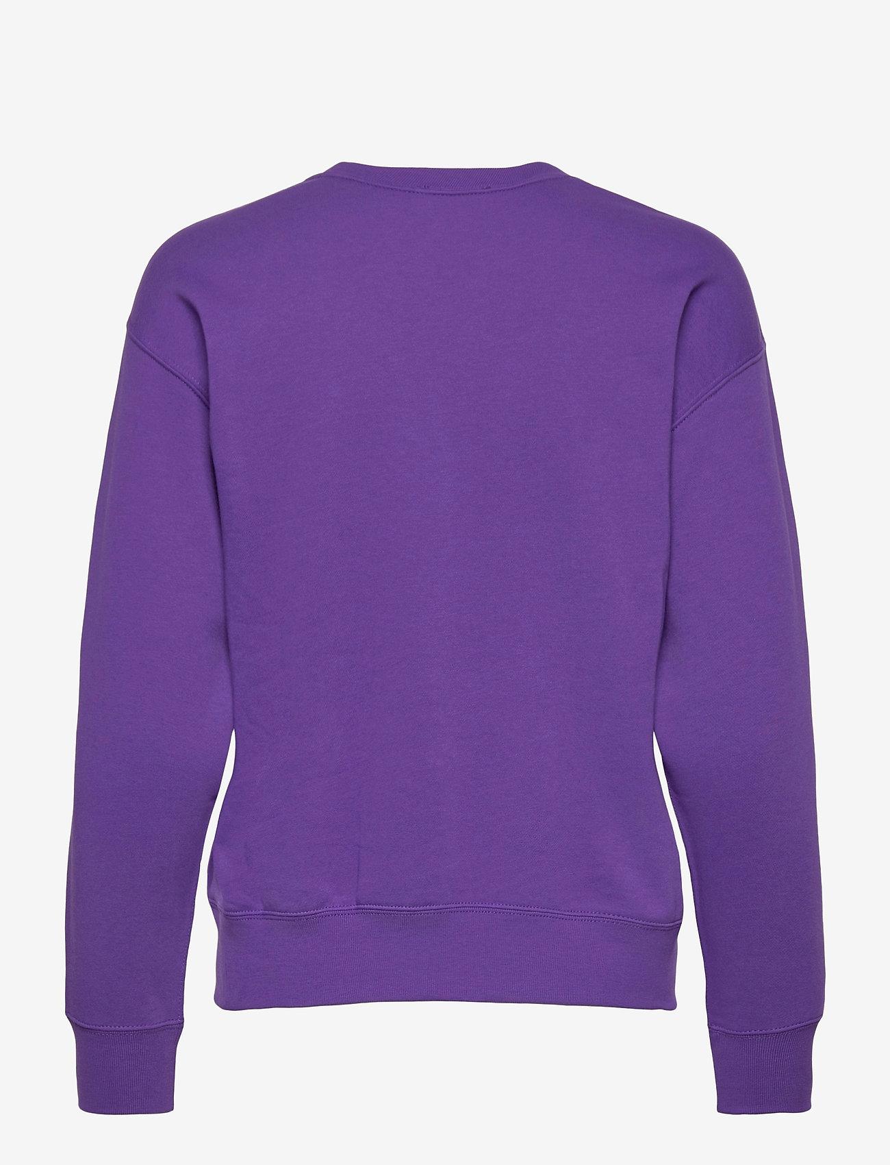 Polo Ralph Lauren - Fleece Pullover - sweatshirts - purple rage - 1