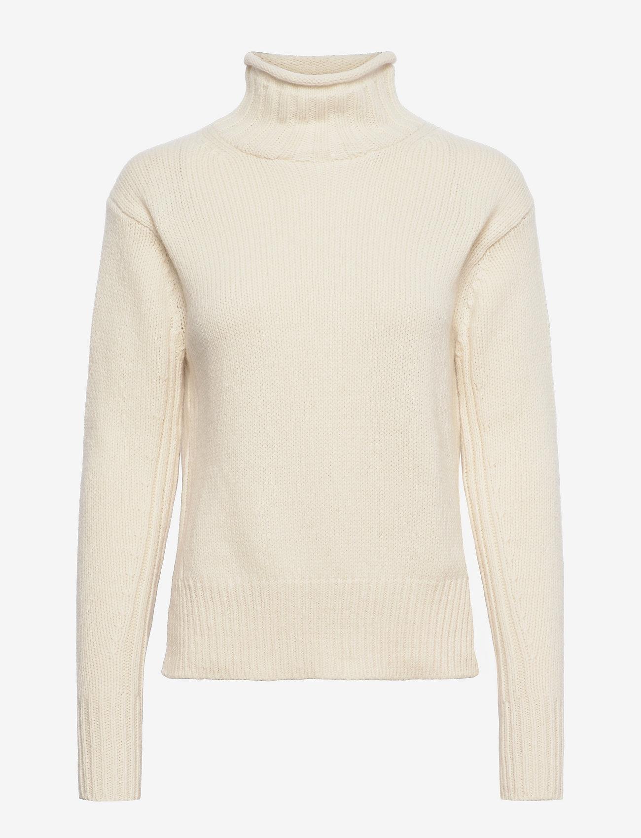Polo Ralph Lauren - Ribbed Turtleneck Sweater - turtlenecks - authentic cream - 0