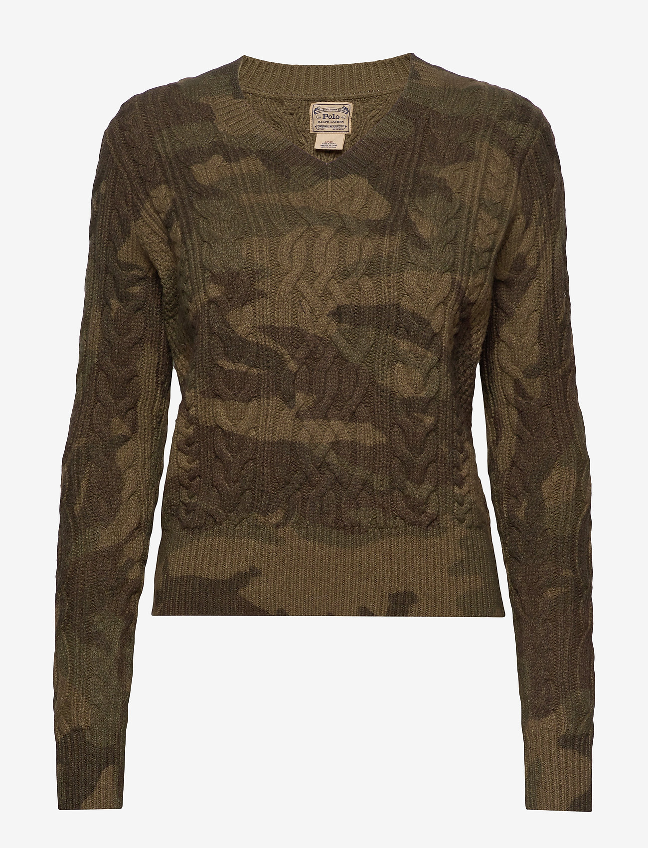 Polo Ralph Lauren - Camo Cable-Knit Sweater - jumpers - camo - 0