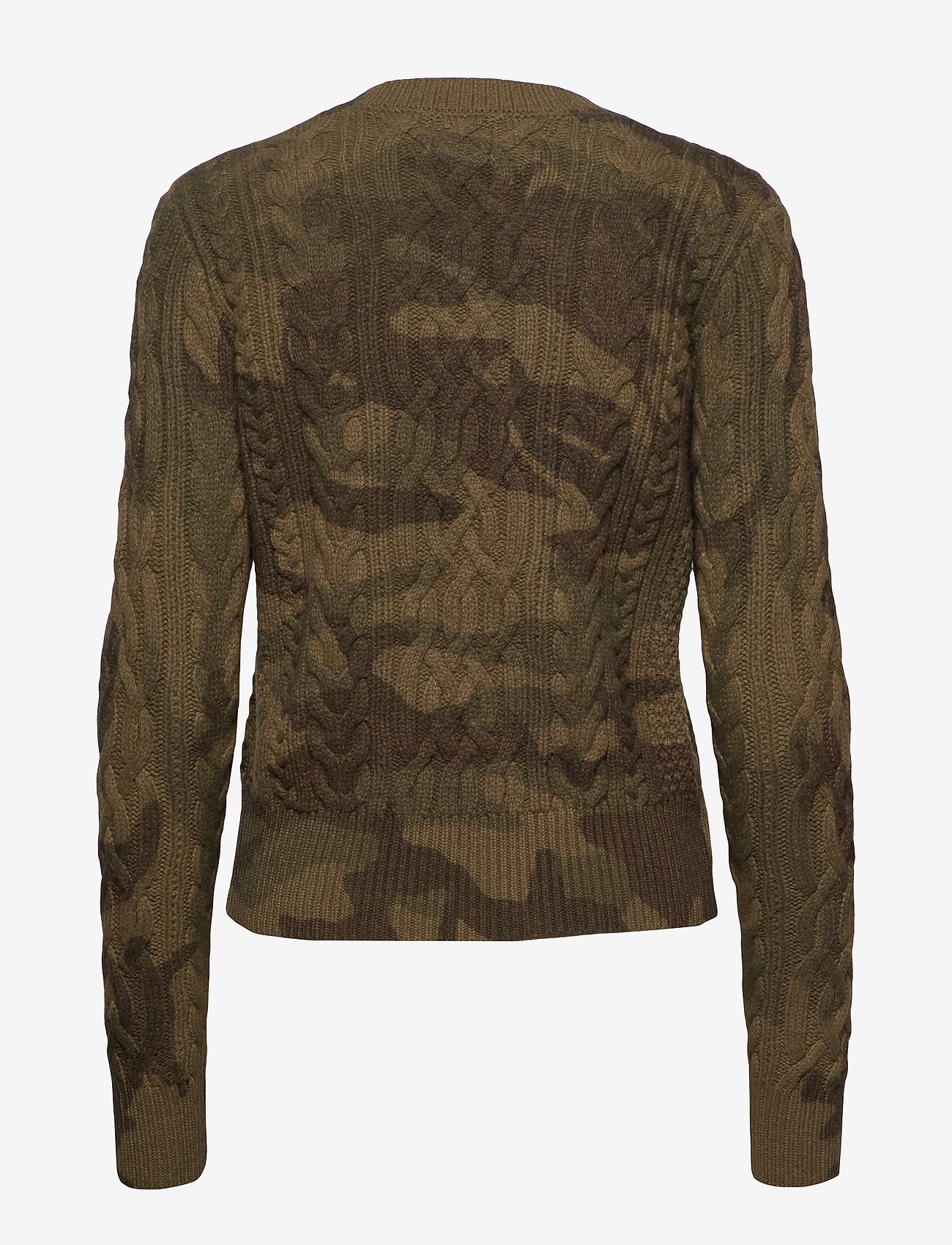 Polo Ralph Lauren - Camo Cable-Knit Sweater - jumpers - camo - 1