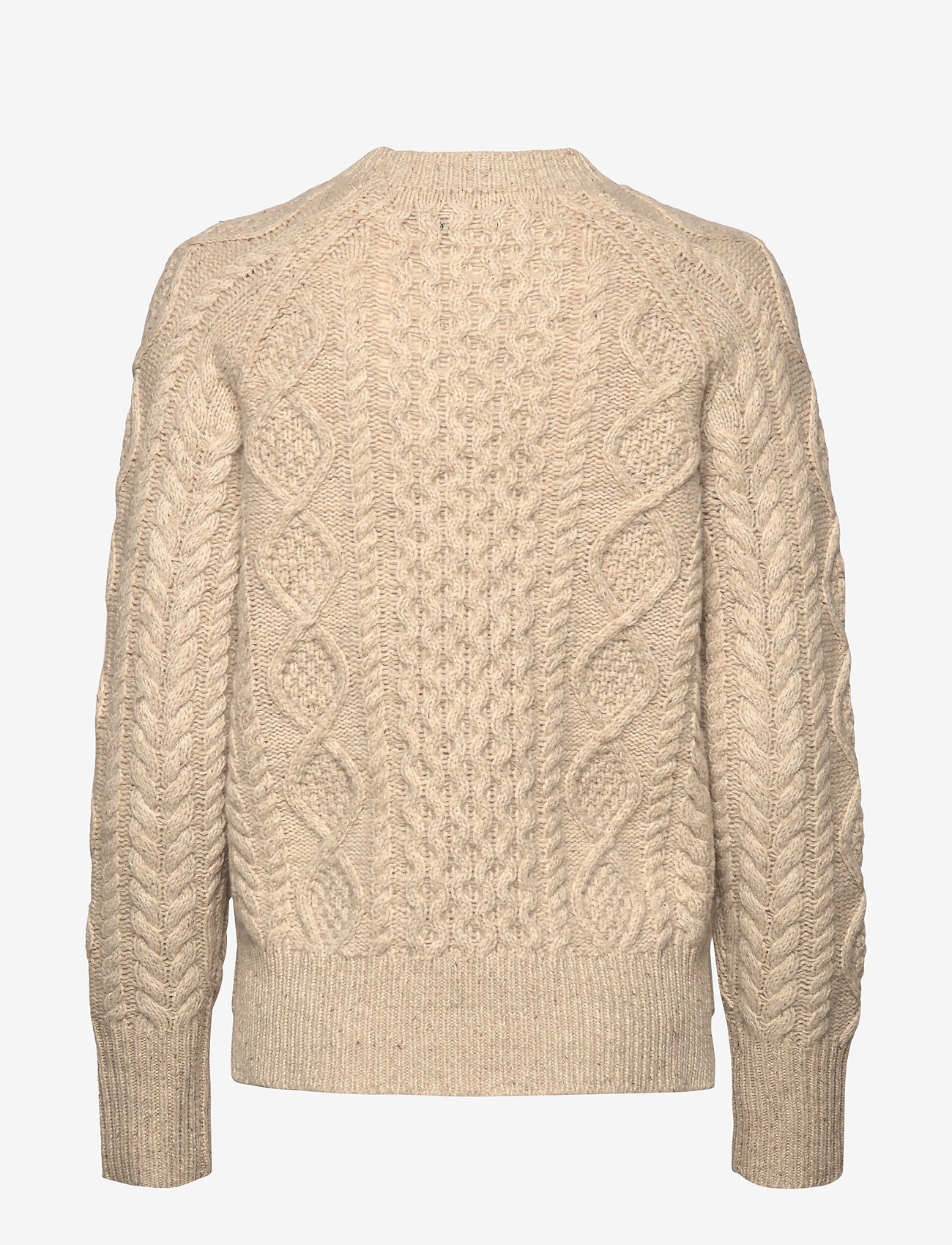 Aran-knit Wool-blend Sweater (Oatmeal) - Polo Ralph Lauren dsL6oR