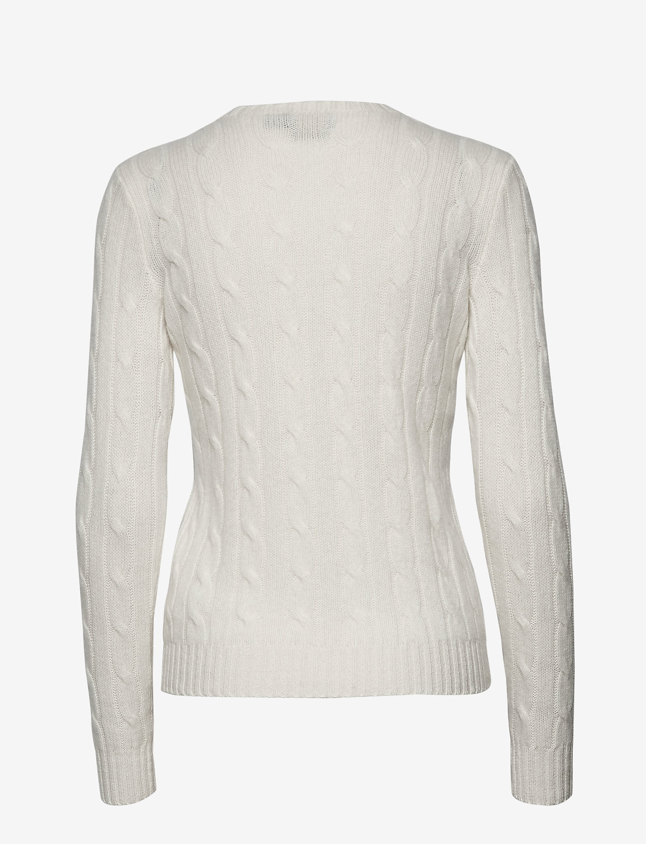 Polo Ralph Lauren - Cable-Knit Cashmere Sweater - jumpers - cream - 1