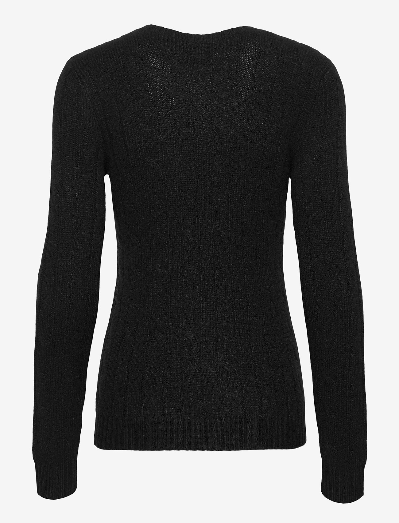Polo Ralph Lauren - Cable-Knit Cashmere Sweater - jumpers - polo black - 1