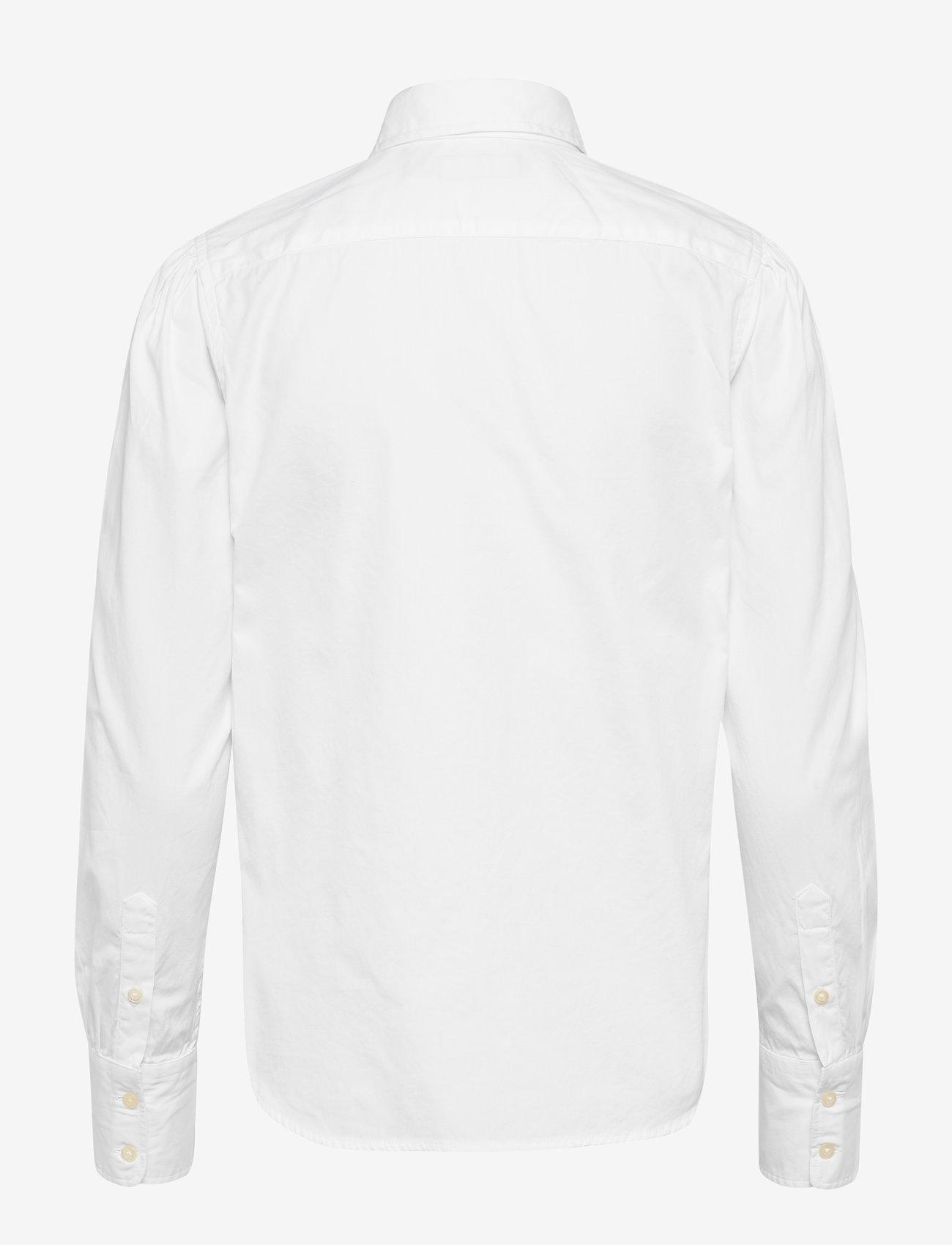 Polo Ralph Lauren - Cotton Oxford Shirt - long-sleeved shirts - bsr white - 1