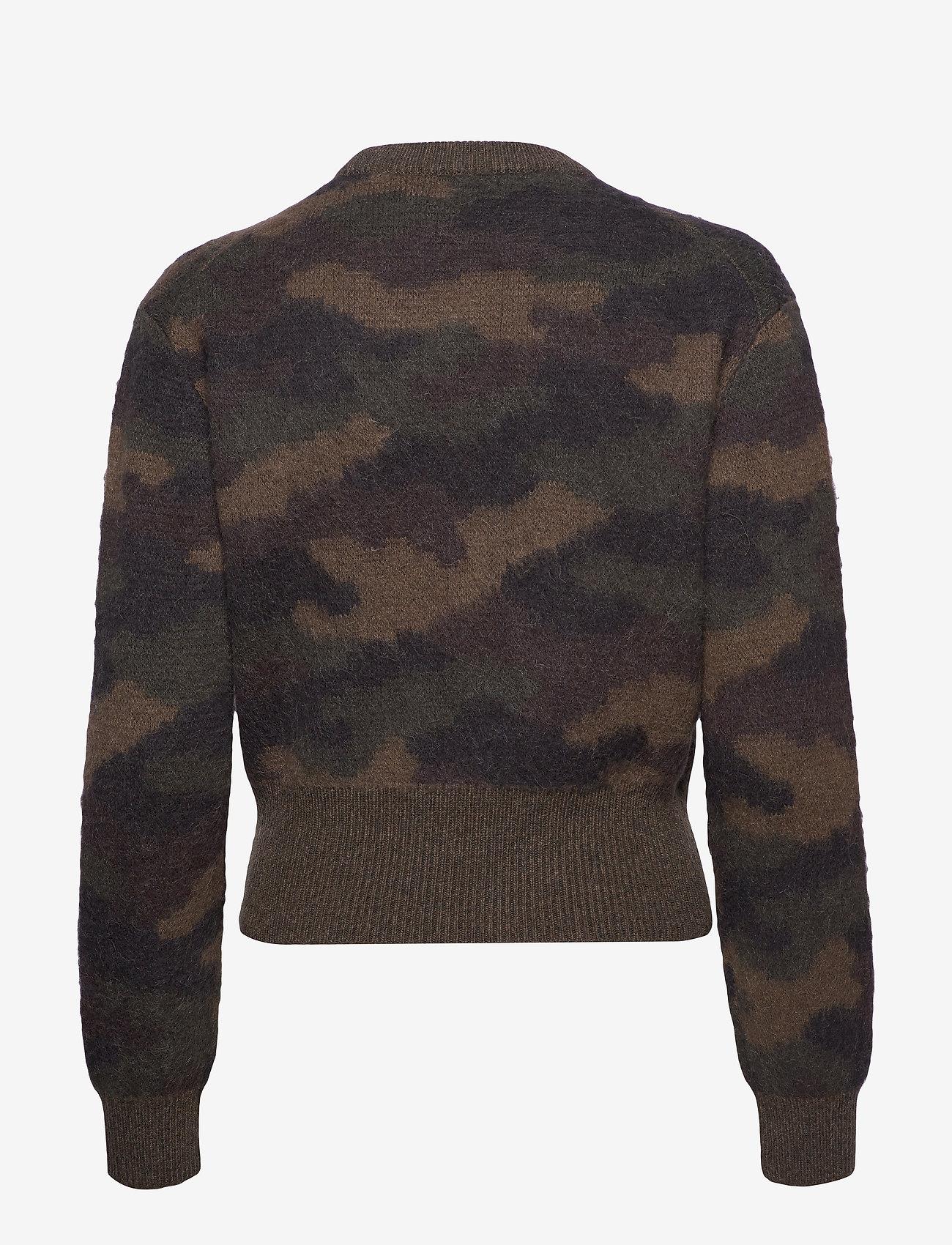 Polo Ralph Lauren - Camo-Print Wool Sweater - swetry - camo - 1