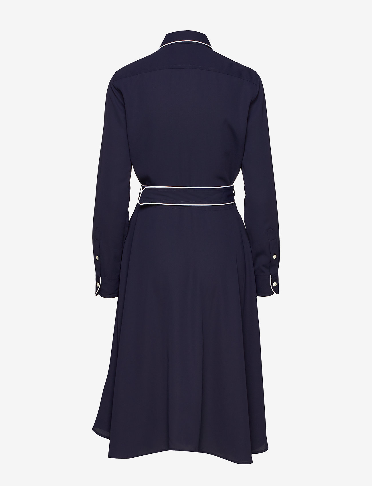 Polo Ralph Lauren - Buckled Shirtdress - midi dresses - cruise navy - 1