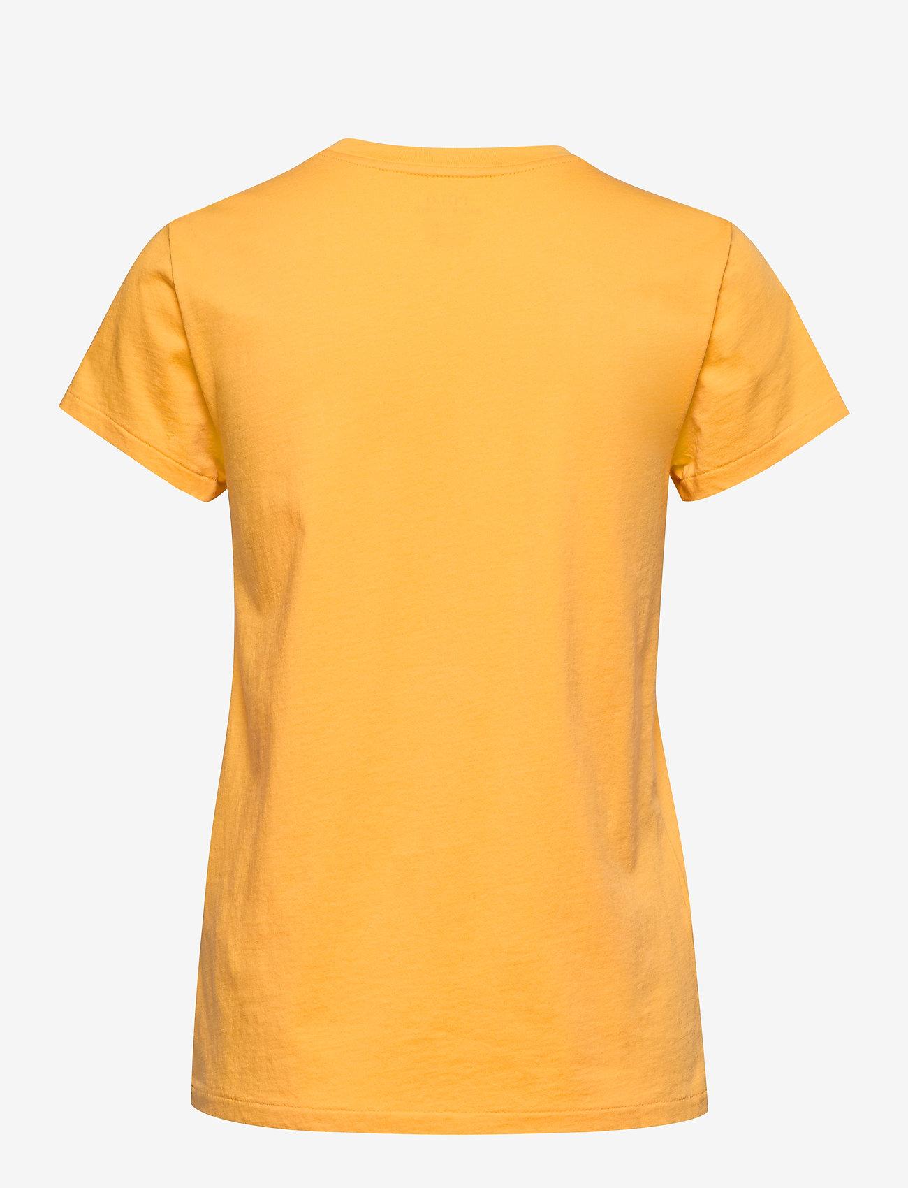 Polo Ralph Lauren - 26/1'S JERSEY-SSL-KNT - logo t-shirts - chrome yellow