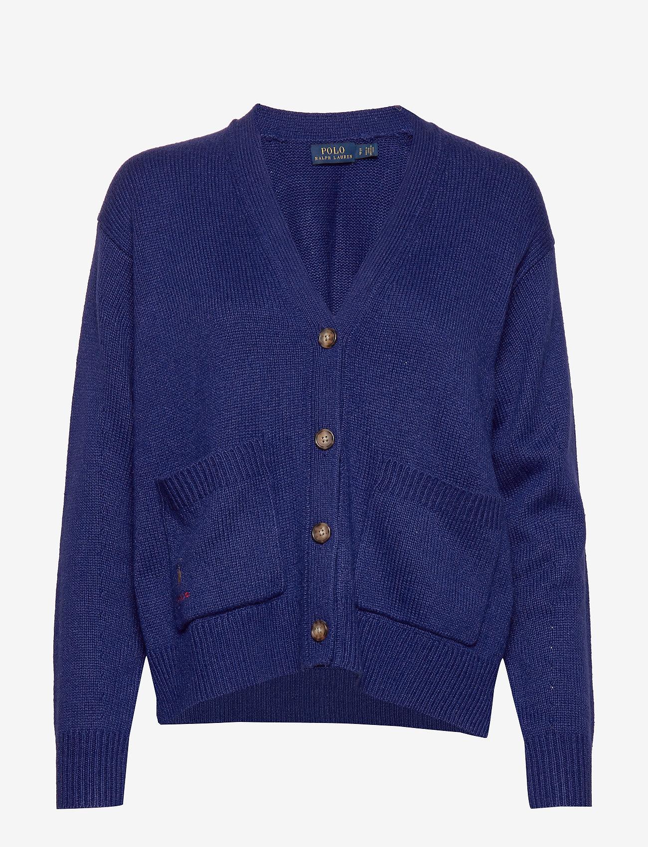 Polo Ralph Lauren - Silk Long-Sleeve Cardigan - cardigans - fall royal - 0
