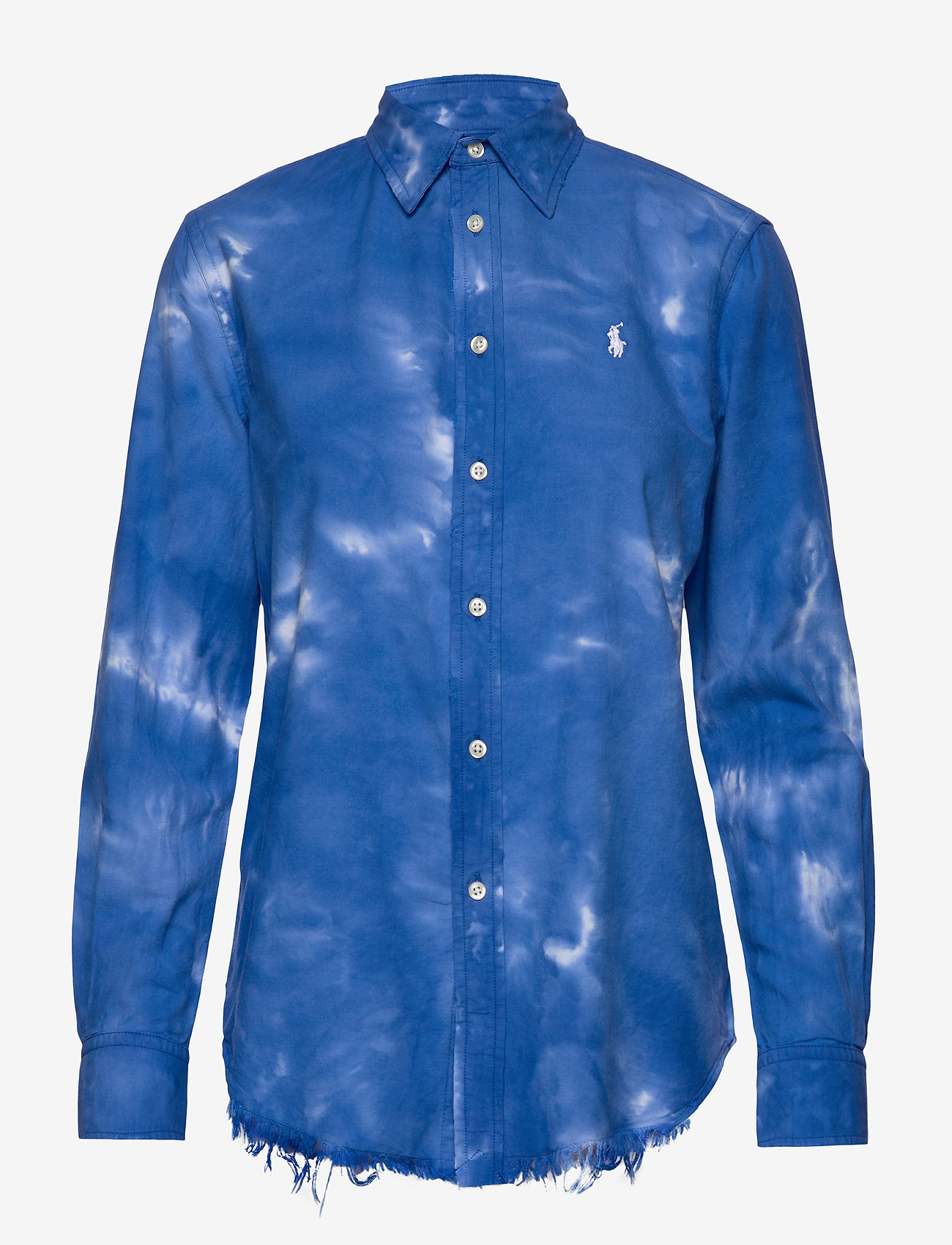 Polo Ralph Lauren - Tie-Dyed Oxford Shirt - long-sleeved shirts - spa royal - 0