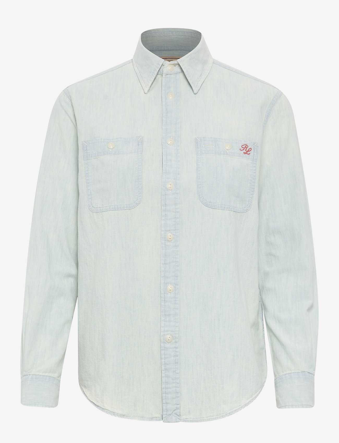 Polo Ralph Lauren - Polo Bear Chambray Shirt - denim shirts - chambray - 0