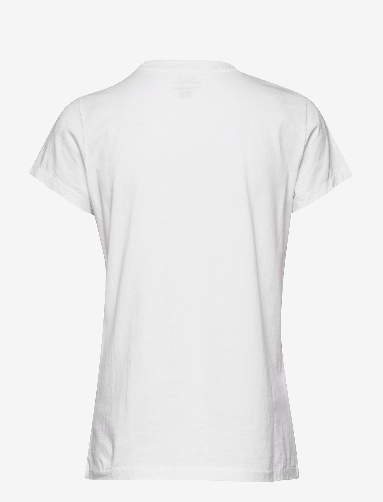 Polo Ralph Lauren - Beaded Polo Tee - t-shirty - white - 1