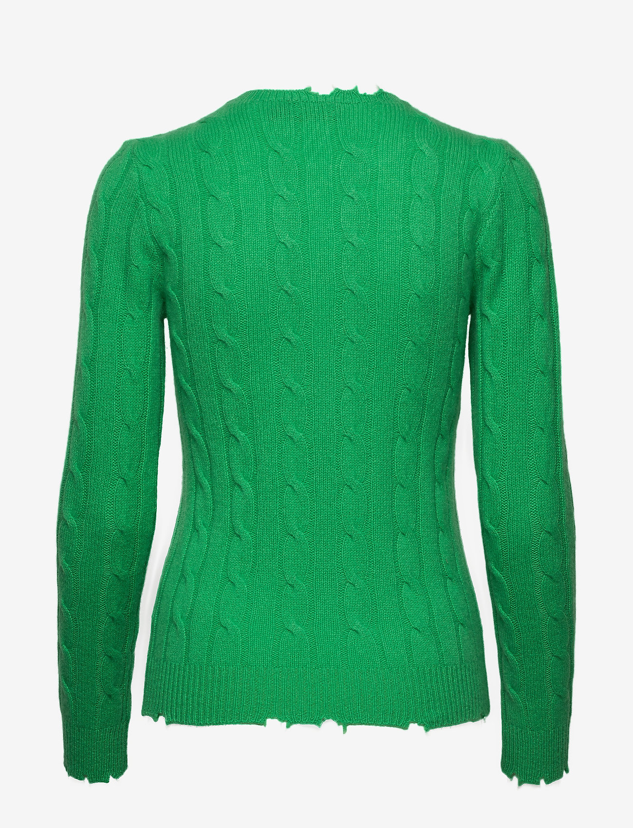 Polo Ralph Lauren - Distressed Cashmere Sweater - jumpers - tiller green - 1
